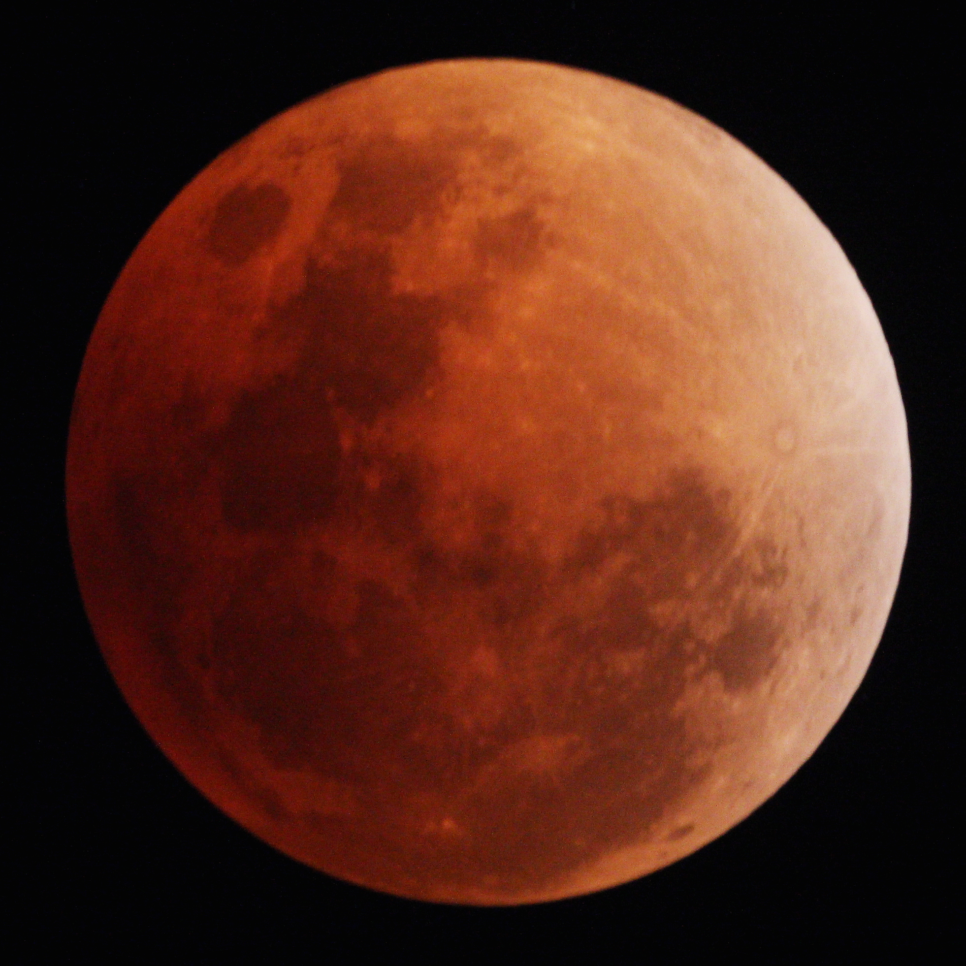 Lunar Eclipse on July 28, 2018